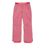 O'Neill Carat Girls Snowboard Pants, Virtual Pink, medium