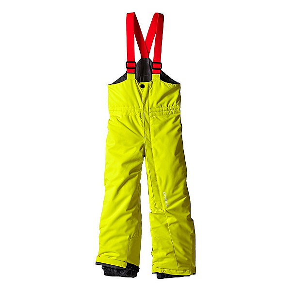 O'Neill Poison Bib Toddler Boys Ski Pants, Poison Yellow, 600