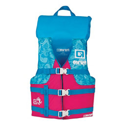 O'Brien Youth Nylon with Collar Junior Life Vest 2017, Pink, 256