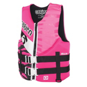O'Brien Girls Neo Teen Life Vest 2017, Pink, medium