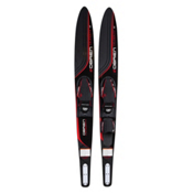 O'Brien Celebrity Combo Water Skis With X-7 Adjustable Bindings 2017, Red, medium