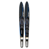 O'Brien Celebrity Combo Water Skis With X-7 Adjustable Bindings 2017, Blue, medium