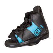 O'Brien Nova Kids Wakeboard Bindings 2017, Black-Blue, medium