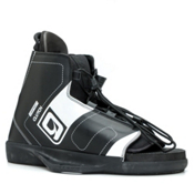O'Brien Clutch Wakeboard Bindings 2017, Black-White, medium
