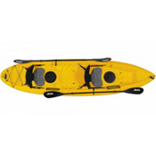 Hobie Kona DLX Kayak 2017, Papaya, medium