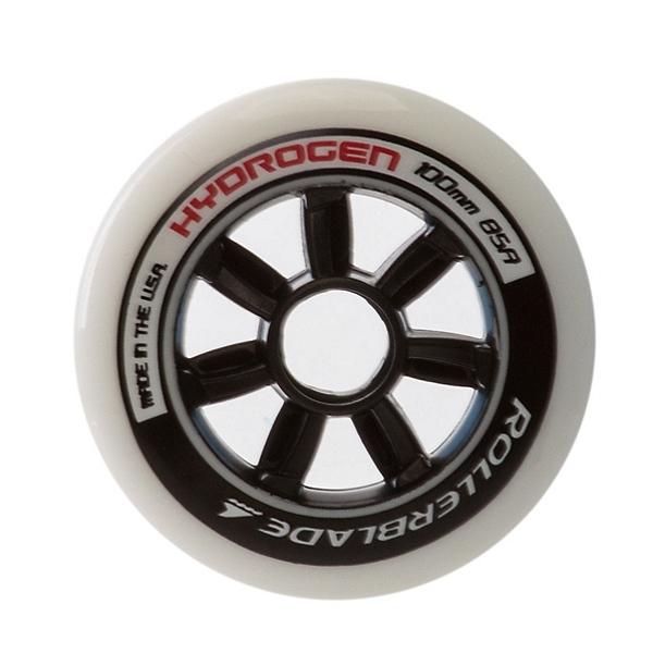 Rollerblade Hydrogen 100mm 85A Inline Skate Wheels - 8 Pack 2017, , 600