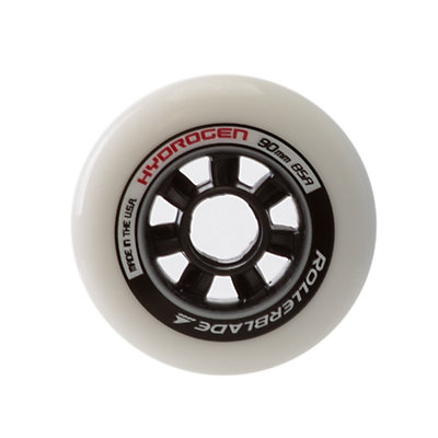 Rollerblade Hydrogen 90mm 85A Inline Skate Wheels - 8 Pack 2017, , viewer