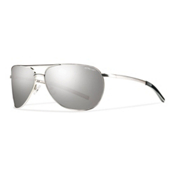 Smith Serpico Slim Sunglasses, Silver, medium