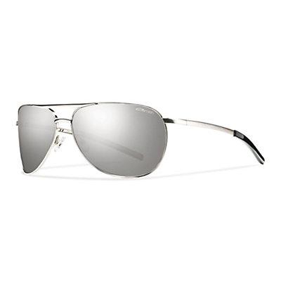 Smith Serpico Slim Sunglasses, Silver, viewer
