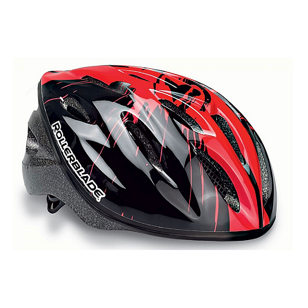 Rollerblade Workout Kids Fitness Helmet 2017, Black-Red, 600