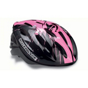 Rollerblade Workout Girls Kids Fitness Helmet 2017, Black-Pink, medium