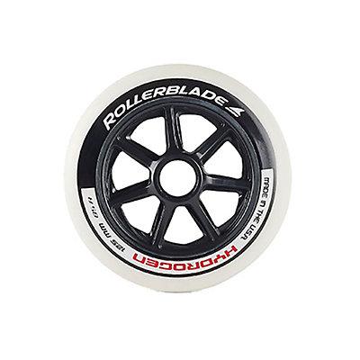 Rollerblade Hydrogen 125mm 85A Inline Skate Wheels - 6 Pack 2017, , viewer