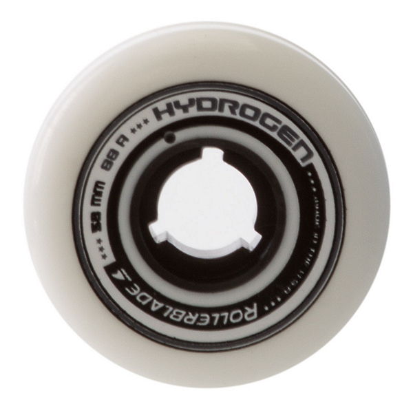 Rollerblade Hydrogen 58mm 88A Aggressive Skate Wheels - 4 Pack 2017, , 600