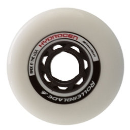 Rollerblade Hydrogen 80mm 85A Inline Skate Wheels - 8 Pack 2017, , 256