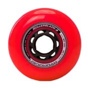 Rollerblade Hydrogen Urban 80mm 85A Inline Skate Wheels - 8 Pack 2017, Red, medium