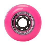 Rollerblade Hydrogen Urban 80mm 85A Inline Skate Wheels - 8 Pack 2017, Pink, medium