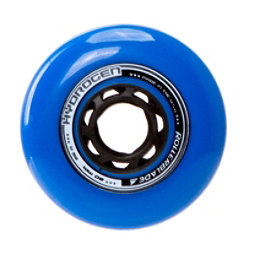 Rollerblade Hydrogen Urban 80mm 85A Inline Skate Wheels - 8 Pack 2017, Blue, 256