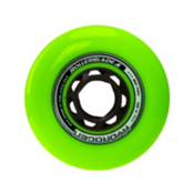 Rollerblade Hydrogen Urban 80mm 85A Inline Skate Wheels - 8 Pack 2017, Green, medium