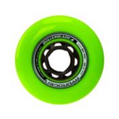 Rollerblade Hydrogen Urban 80mm 85A Inline Skate Wheels - 8 Pack 2017, Green, medium