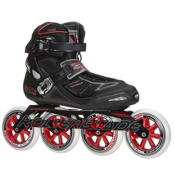 Rollerblade Tempest 110 C Inline Skates 2017, Black-Red, medium