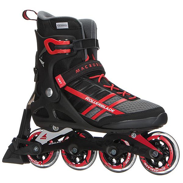 Rollerblade Macroblade 84 ABT Inline Skates 2017, Black-Red, 600