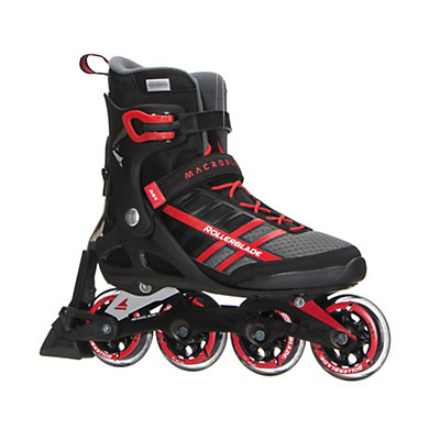Rollerblade Macroblade 84 ABT Inline Skates 2017, Black-Red, viewer