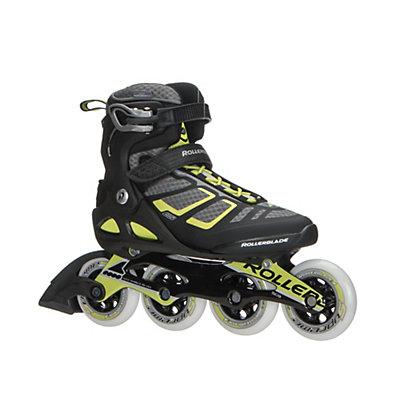 Rollerblade Macroblade 90 ALU Inline Skates 2017, Black-Lime, viewer