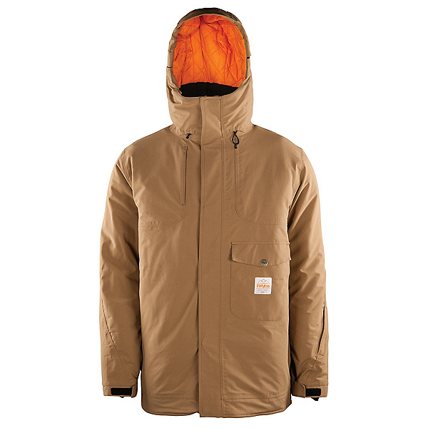 ThirtyTwo Holcomb Mens Insulated Snowboard Jacket, Clove, 600