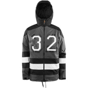 ThirtyTwo Batch Mens Shell Snowboard Jacket, Carbon, medium