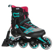 Rollerblade Macroblade 84 ABT Womens Inline Skates 2017, Emerald Green-Cherry, medium