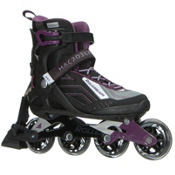 Rollerblade Macroblade 80 ABT Womens Inline Skates 2017, Black-Purple, medium