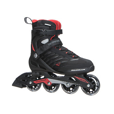 Rollerblade Zetrablade Inline Skates 2017, Black-Red, viewer