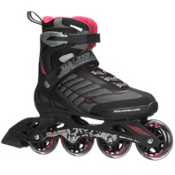 Rollerblade Zetrablade Womens Inline Skates 2017, Black-Red, medium