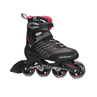 Rollerblade Zetrablade Womens Inline Skates 2017, Black-Red, viewer