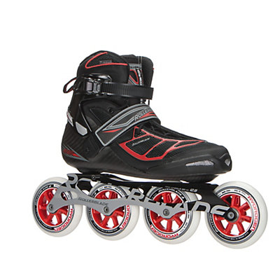 Rollerblade Tempest 100 C Inline Skates 2017, Black-Red, viewer