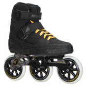 Rollerblade Metroblade 3WD Urban Inline Skates 2017, Black-Yellow, medium