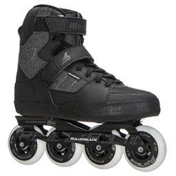 Rollerblade Metroblade Urban Inline Skates 2017, Black-Anthracite, 256