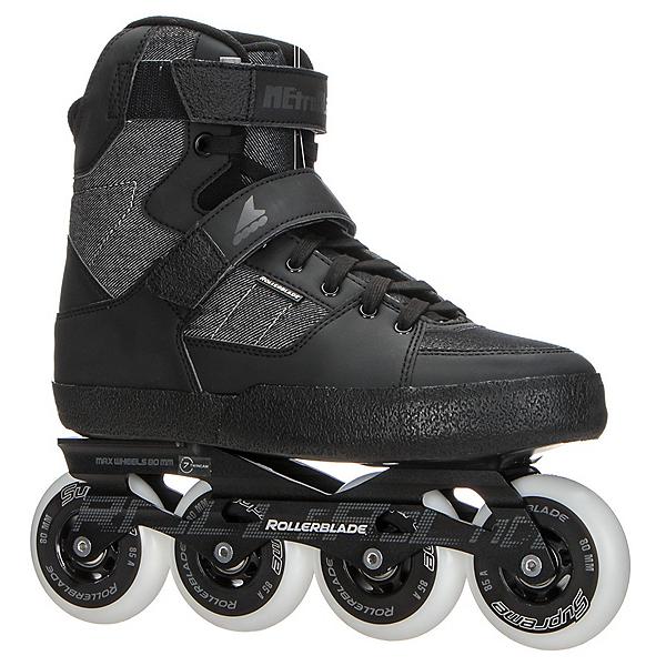 Rollerblade Metroblade Urban Inline Skates 2017, Black-Anthracite, 600
