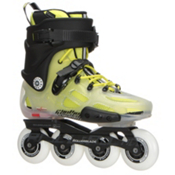 Rollerblade Twister X Urban Inline Skates 2017, Translucent-Fluorescent Yellow, medium