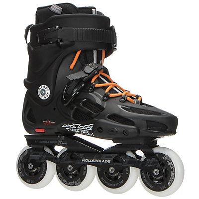 Rollerblade Twister 80 Urban Inline Skates 2017, Black-Orange, viewer