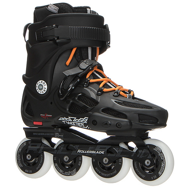 Rollerblade Twister 80 Urban Inline Skates 2017, Black-Orange, 600