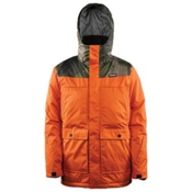 ThirtyTwo Truman Mens Insulated Snowboard Jacket, Burnt Orange, medium