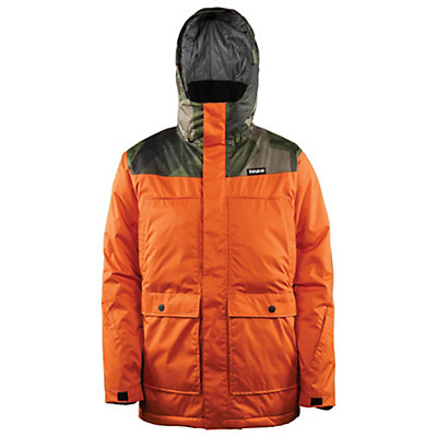 ThirtyTwo Truman Mens Insulated Snowboard Jacket, Burnt Orange, viewer