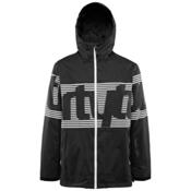 ThirtyTwo Lowdown Mens Shell Snowboard Jacket, Black, medium