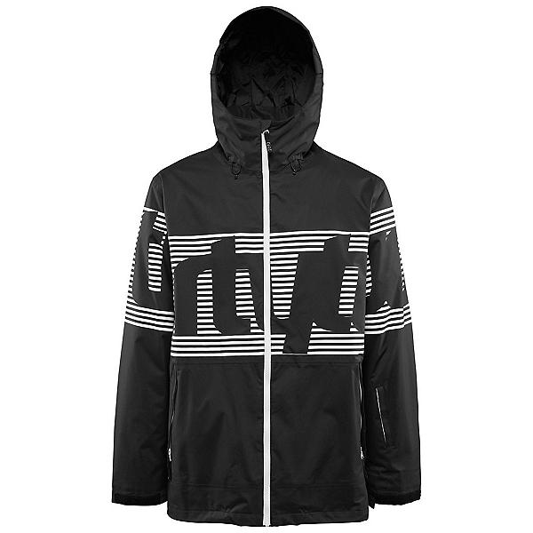 ThirtyTwo Lowdown Mens Shell Snowboard Jacket, Black, 600