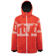 ThirtyTwo Lowdown Mens Shell Snowboard Jacket, Tangerine, medium
