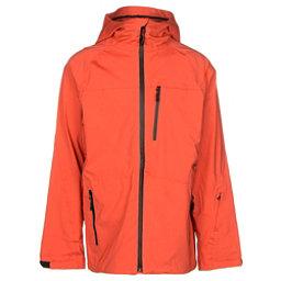 ThirtyTwo Welkin Mens Shell Snowboard Jacket, Tangerine, 256