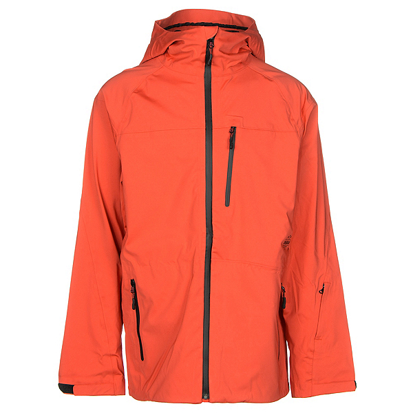 ThirtyTwo Welkin Mens Shell Snowboard Jacket, Tangerine, 600
