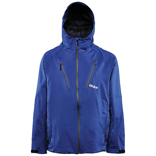ThirtyTwo Welkin 2 Mens Shell Snowboard Jacket, Blue, 600