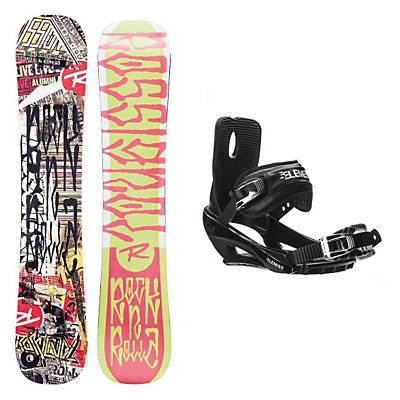 Rossignol RocknRolla AmpTek Stealth 3 Snowboard and Binding Package, , viewer